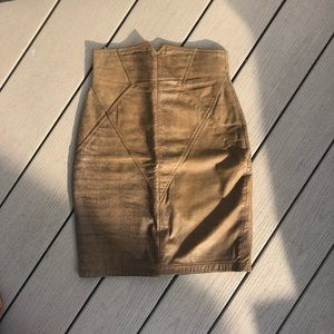 out of bounds leather skirt size 2/4